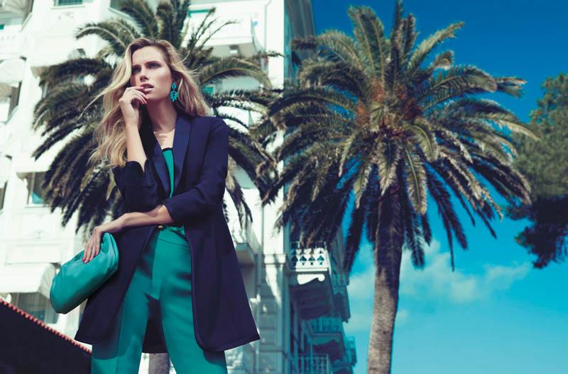 Cato Van Ee Fronts Luisa Spagnoli Spring 2013 Campaign
