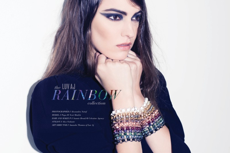 LuvAJ1 Luv AJ Gets Colorful with New Rainbow Collection