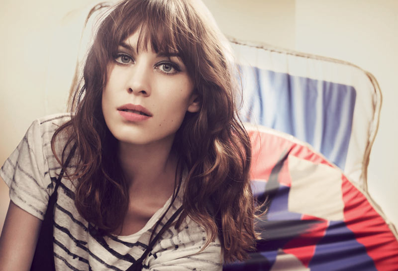 MAJE SS13 CAMPAIGN PR UK 3 Alexa Chung Stars in Maje Spring 2013 Campaign by Craig McDean