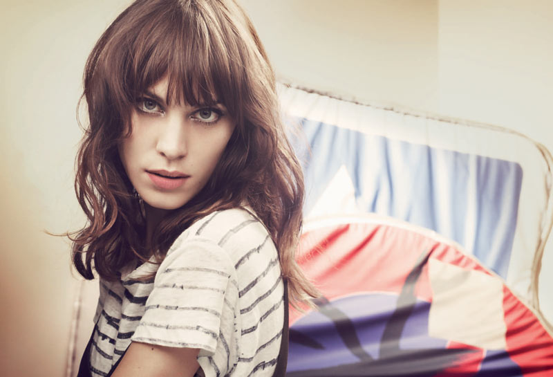 MAJE SS13 CAMPAIGN PR UK 4 Alexa Chung Stars in Maje Spring 2013 Campaign by Craig McDean