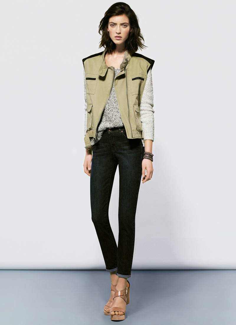 MangoJan11 Mango Showcases Must Have Spring Style with its January 2013 Lookbook