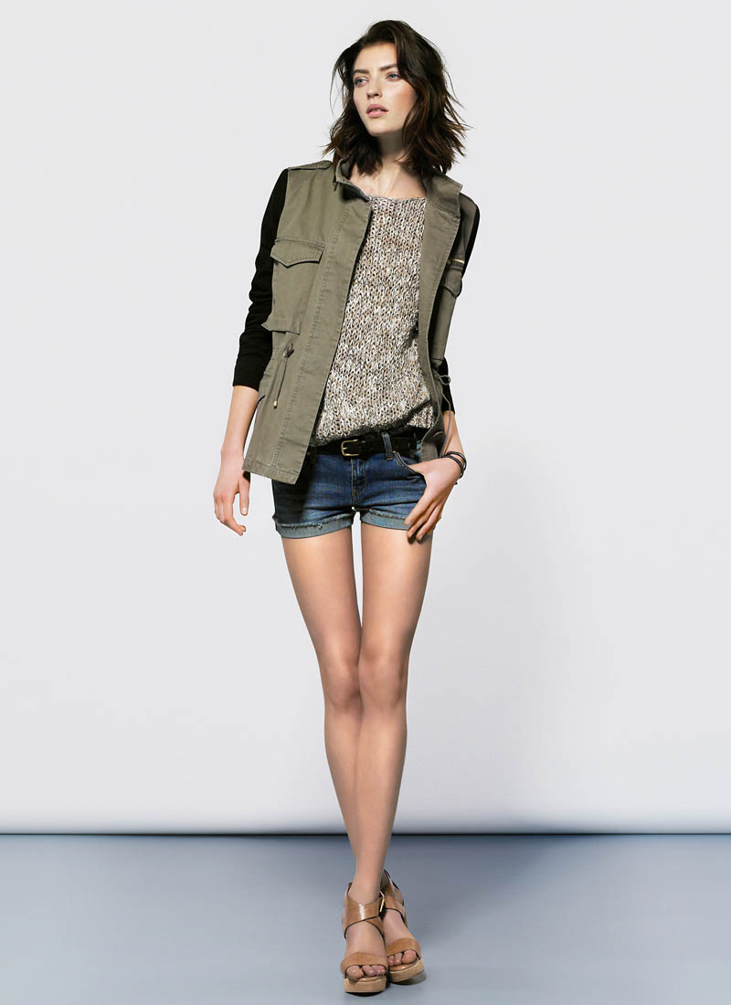 MangoJan13 Mango Showcases Must Have Spring Style with its January 2013 Lookbook