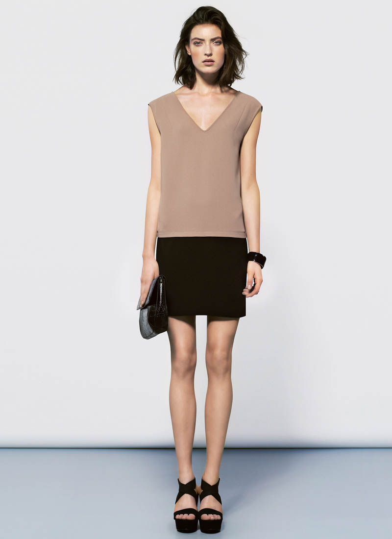 MangoJan15 Mango Showcases Must Have Spring Style with its January 2013 Lookbook