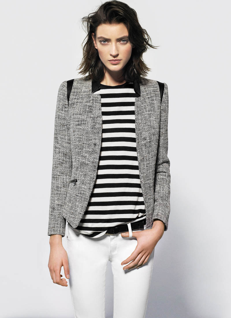 MangoJan4 Mango Showcases Must Have Spring Style with its January 2013 Lookbook