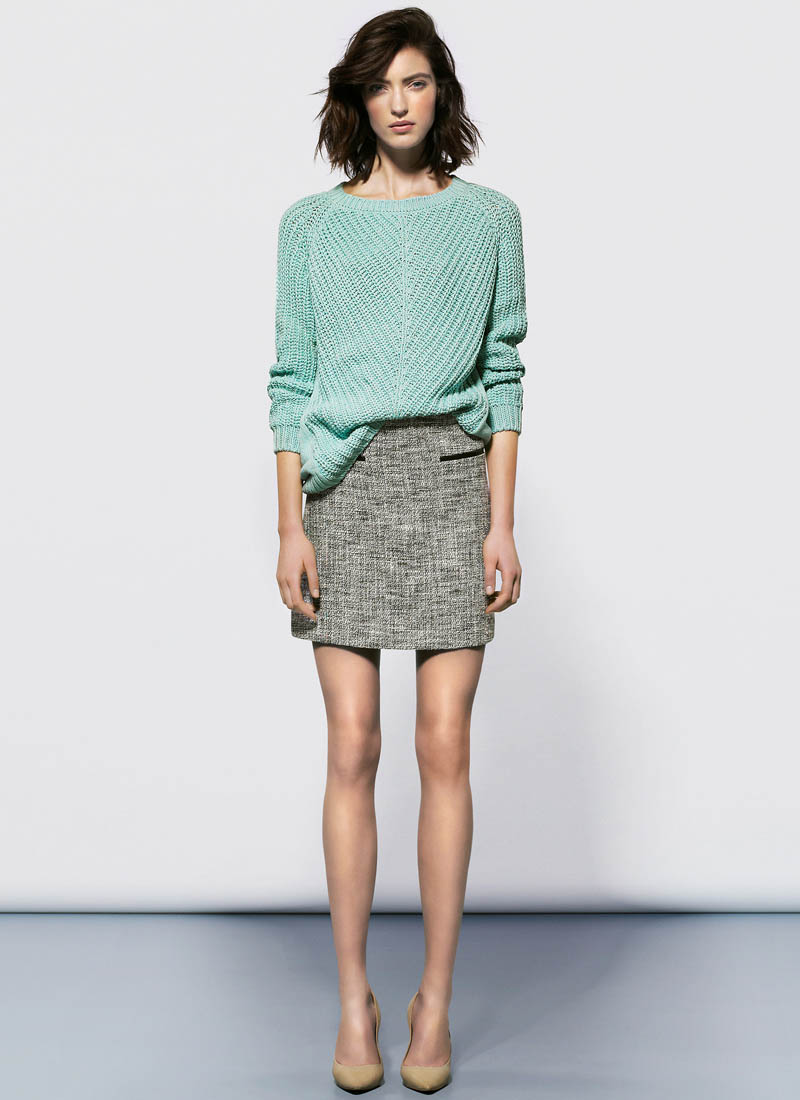 MangoJan7 Mango Showcases Must Have Spring Style with its January 2013 Lookbook