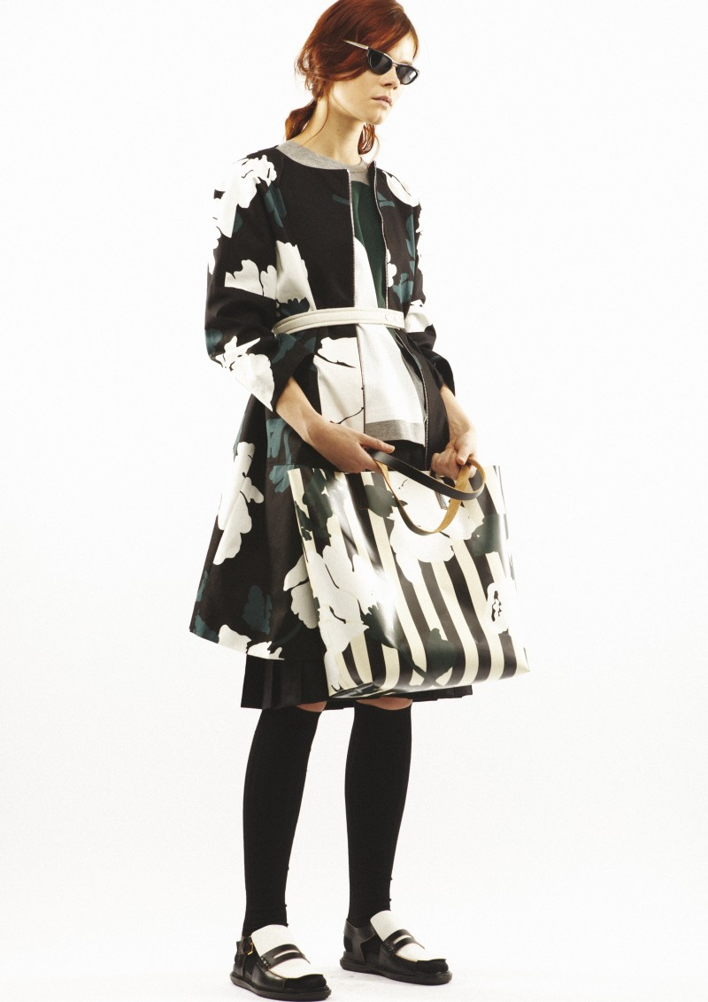 MarniPreFall23 Marni Mixes Function with Style for its Pre Fall 2013 Collection