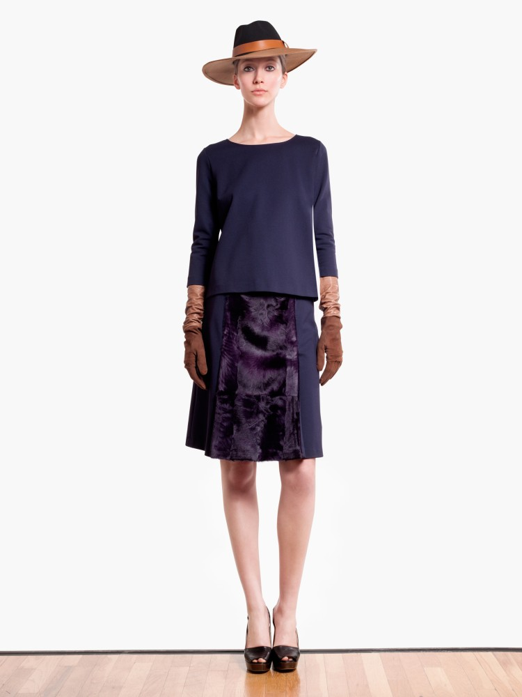 MaxMaraPF11 Max Mara Showcases Oversized Elegance for its Pre Fall 2013 Collection