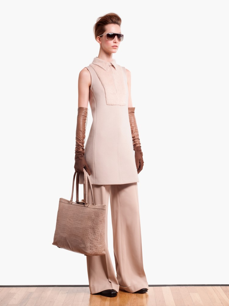 MaxMaraPF5 Max Mara Showcases Oversized Elegance for its Pre Fall 2013 Collection