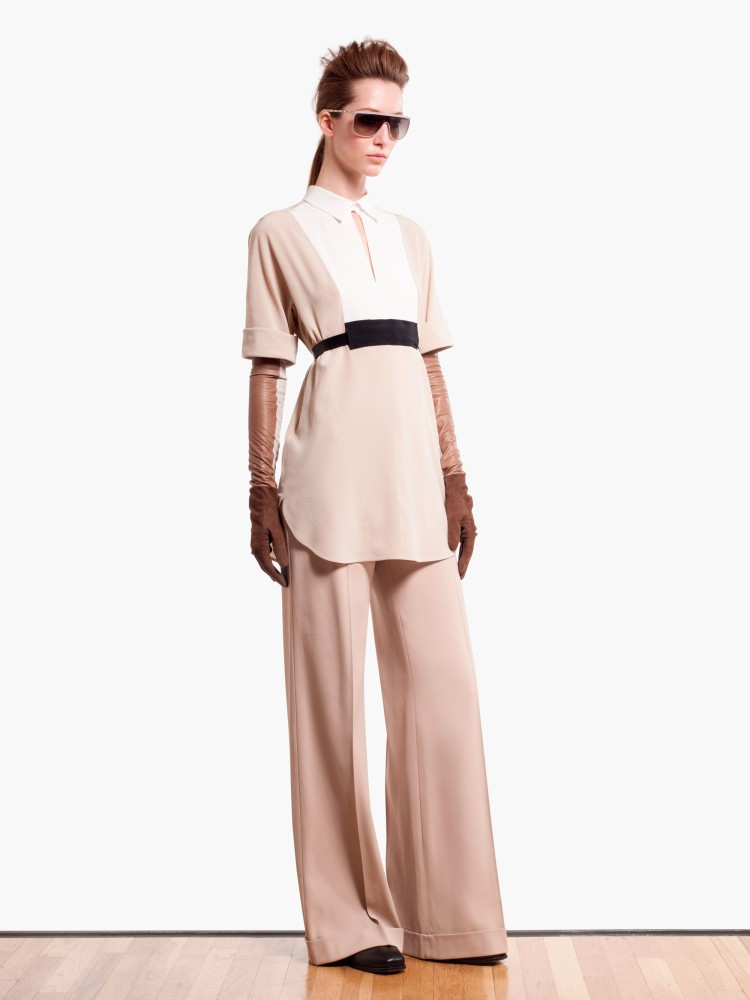 MaxMaraPF7 Max Mara Showcases Oversized Elegance for its Pre Fall 2013 Collection