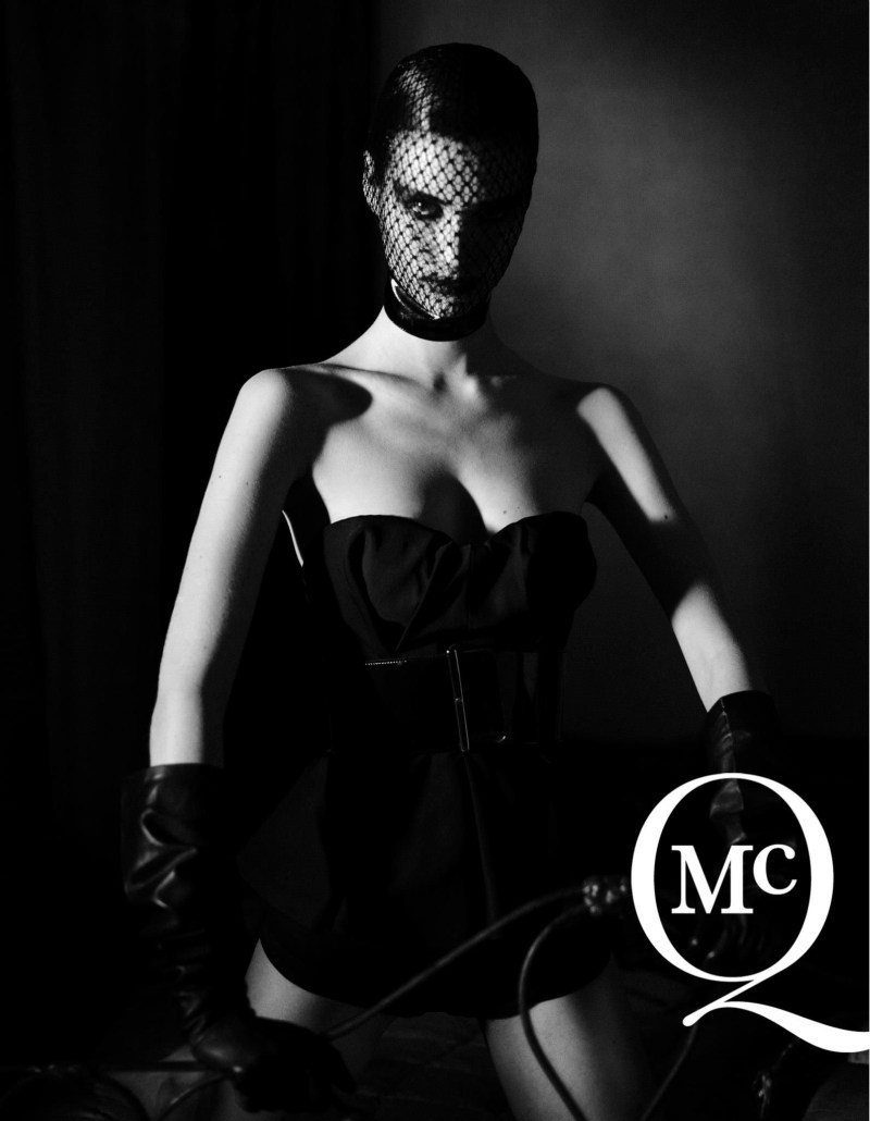 McQSpring2 McQ by Alexander McQueens Spring 2013 Campaign Takes on Fetish Style with Manon Leloup