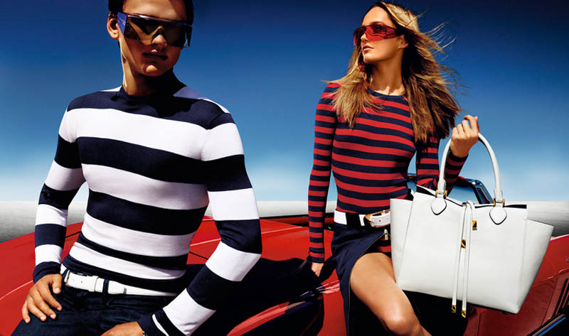 MichaelKorsSS1 Karmen Pedaru is California Glam for Michael Kors Spring 2013 Campaign by Mario Testino