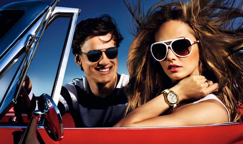 MichaelKorsSS3 Karmen Pedaru is California Glam for Michael Kors Spring 2013 Campaign by Mario Testino