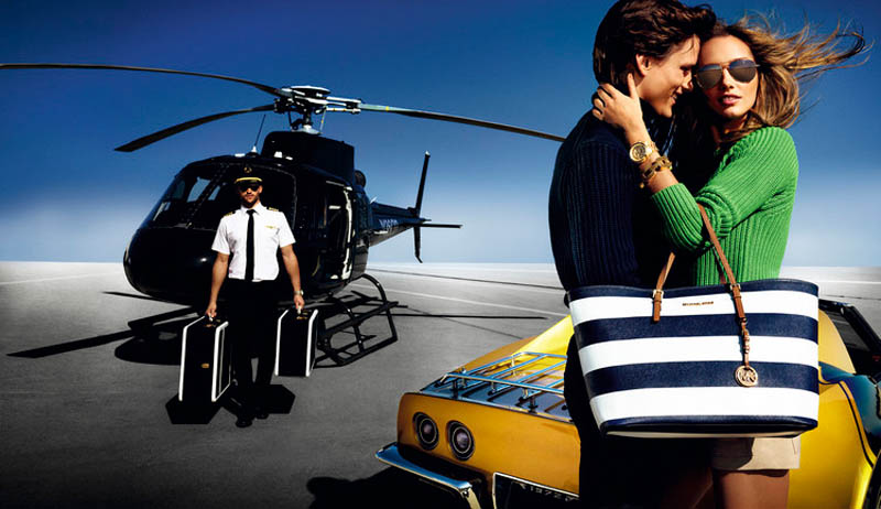 MichaelKorsSS5 Karmen Pedaru is California Glam for Michael Kors Spring 2013 Campaign by Mario Testino