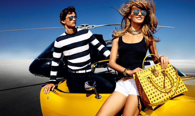 MichaelKorsSS6 Karmen Pedaru is California Glam for Michael Kors Spring 2013 Campaign by Mario Testino