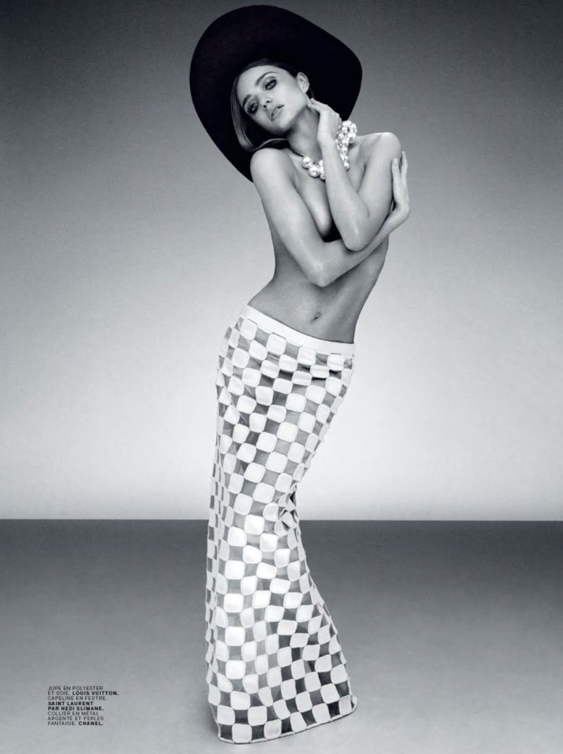 Miranda Kerr is Retro Glam for the February Cover Shoot of Jalouse