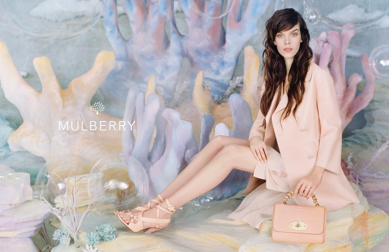 MulberrySS133 Meghan Collison is a Pastel Dream in Mulberrys Spring 2013 Campaign by Tim Walker
