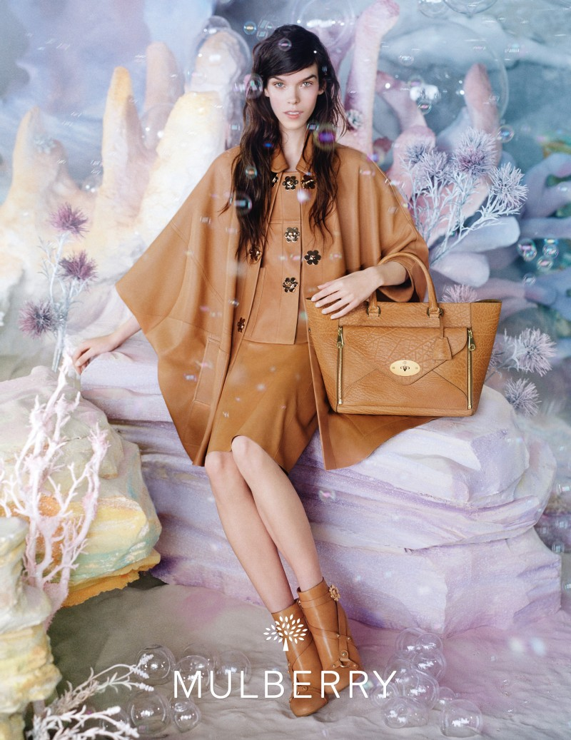 MulberrySS134 Meghan Collison is a Pastel Dream in Mulberrys Spring 2013 Campaign by Tim Walker