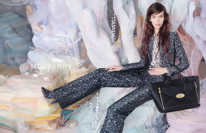MulberrySS135 Meghan Collison is a Pastel Dream in Mulberrys Spring 2013 Campaign by Tim Walker