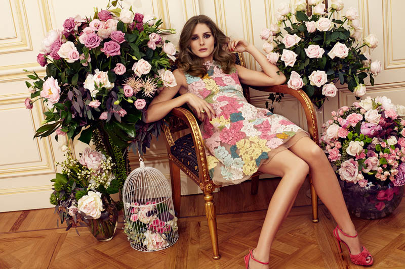 OliviaMC1 Olivia Palermo Stars in Marie Claire Spain February 2013 Cover Shoot by Nacho Alegre