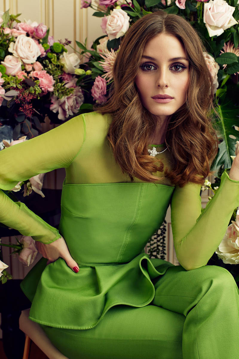 Olivia Palermo Stars in Marie Claire Spain February 2013 Cover Shoot by Nacho Alegre