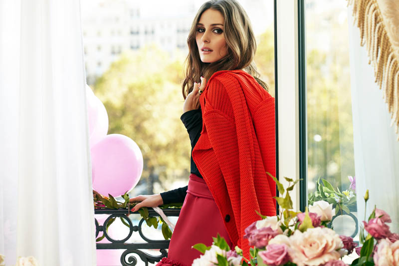 OliviaMC6 Olivia Palermo Stars in Marie Claire Spain February 2013 Cover Shoot by Nacho Alegre