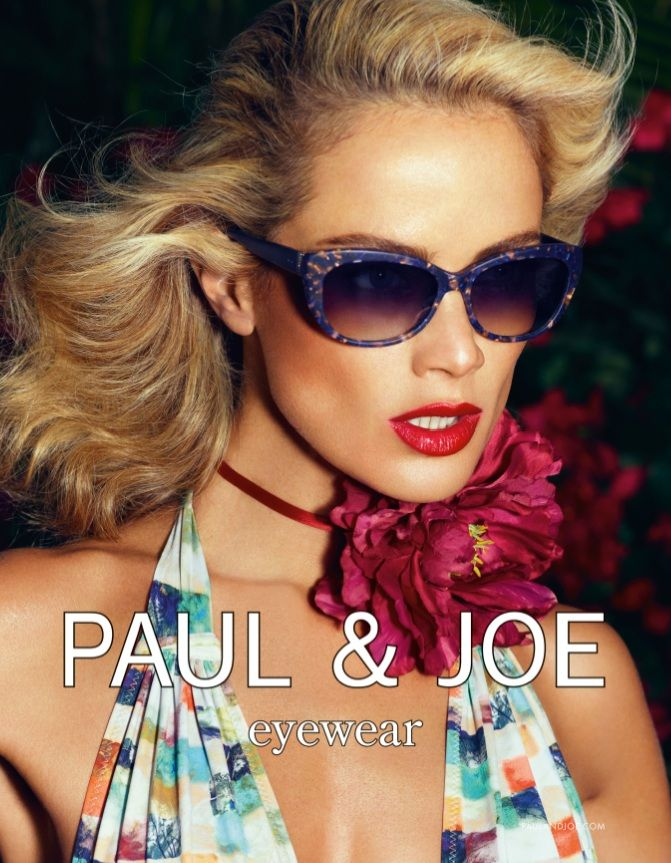 PaulJoe1 Carolyn Murphy Gardens in Style for Paul & Joes Spring 2013 Campaign