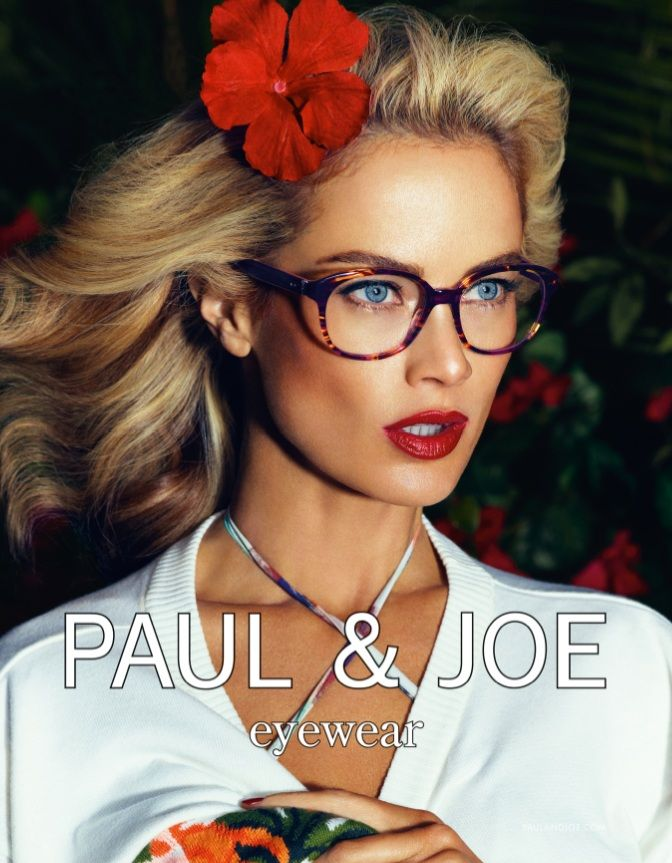 PaulJoe2 Carolyn Murphy Gardens in Style for Paul & Joes Spring 2013 Campaign
