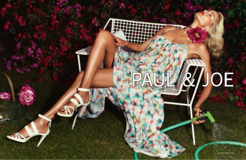 PaulJoe5 800x523 Carolyn Murphy Gardens in Style for Paul & Joes Spring 2013 Campaign