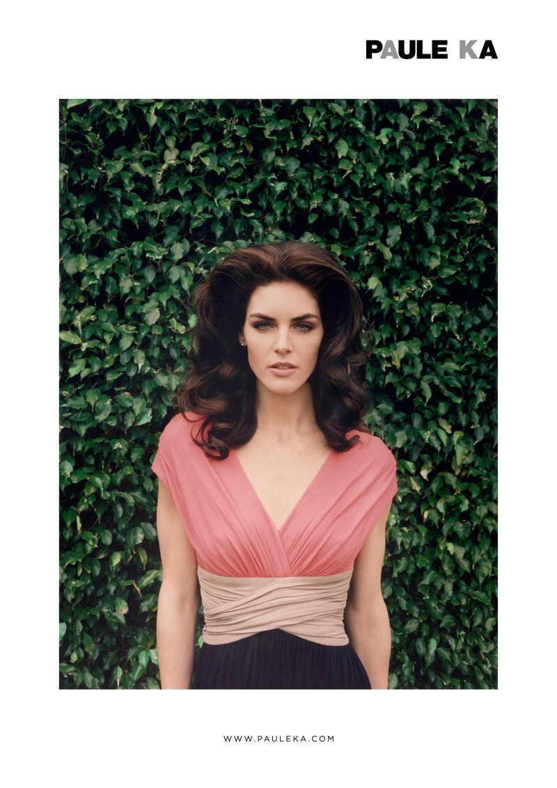 Hilary Rhoda is Retro Glam for Paule Ka Spring 2013 Campaign by Venetia Scott