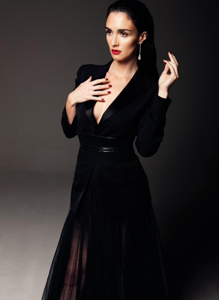 PazVega1 Paz Vega Gets Sultry for So Chic Magazine by Gianluca Fontana