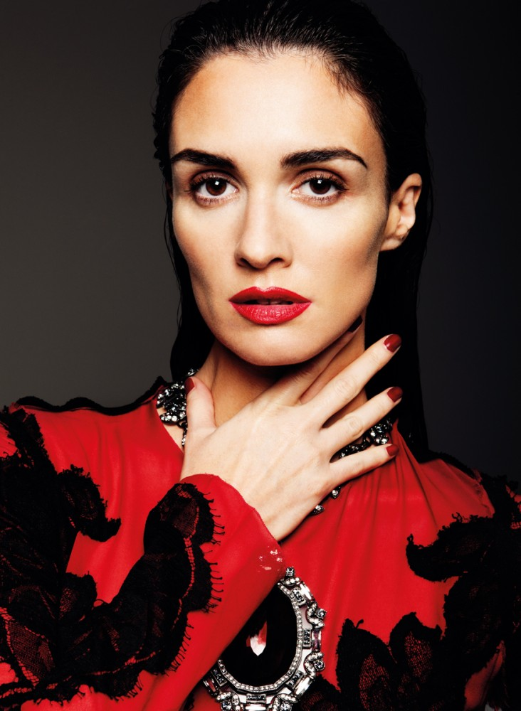 PazVega4 Paz Vega Gets Sultry for So Chic Magazine by Gianluca Fontana