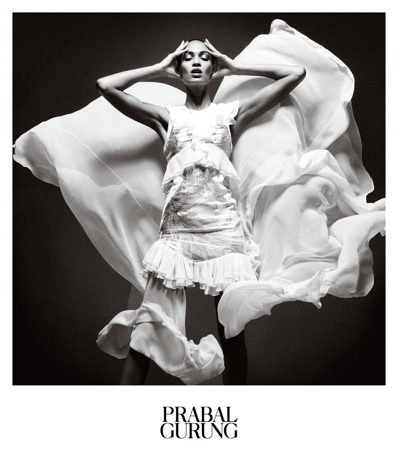PrabalAd1 Prabal Gurung Taps Joan Smalls for Spring 2013 Campaign by Daniel Jackson