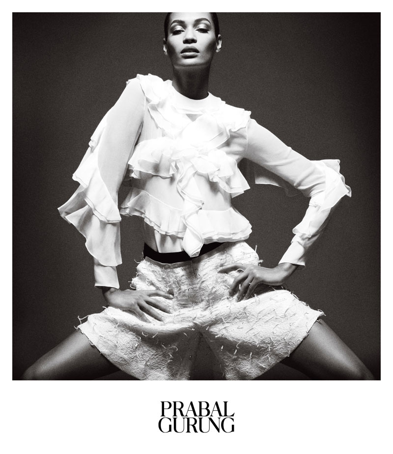PrabalAd2 Prabal Gurung Taps Joan Smalls for Spring 2013 Campaign by Daniel Jackson