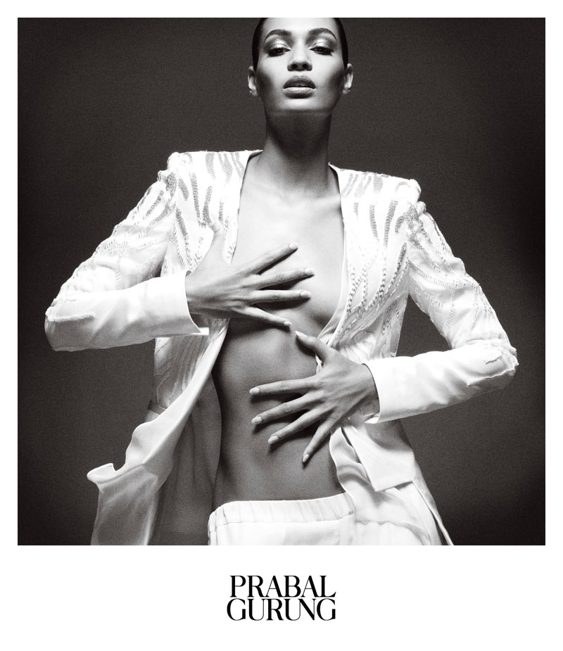PrabalAd3 Prabal Gurung Taps Joan Smalls for Spring 2013 Campaign by Daniel Jackson