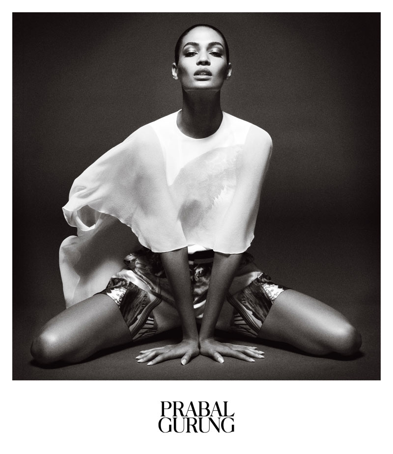 PrabalAd4 Prabal Gurung Taps Joan Smalls for Spring 2013 Campaign by Daniel Jackson