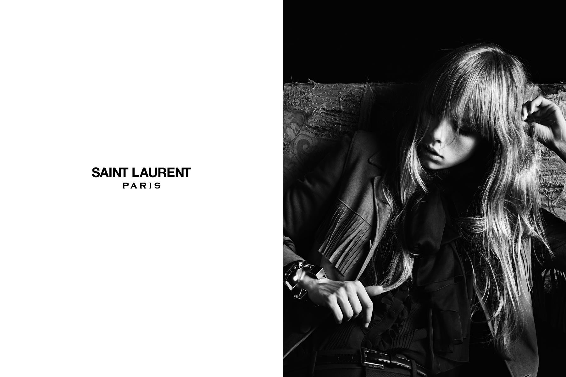 Saint Laurent SpringSummer 2013 Campaign