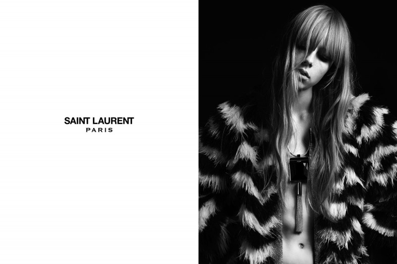 SaintLaurent10 800x533 Edie Campbell Stars in the Saint Laurent Spring 2013 Campaign by Hedi Slimaine