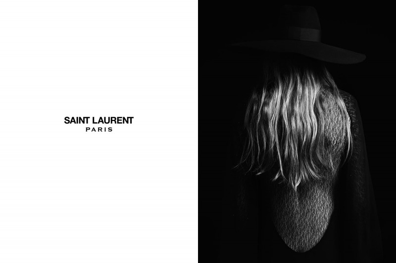 SaintLaurent4 800x533 Edie Campbell Stars in the Saint Laurent Spring 2013 Campaign by Hedi Slimaine