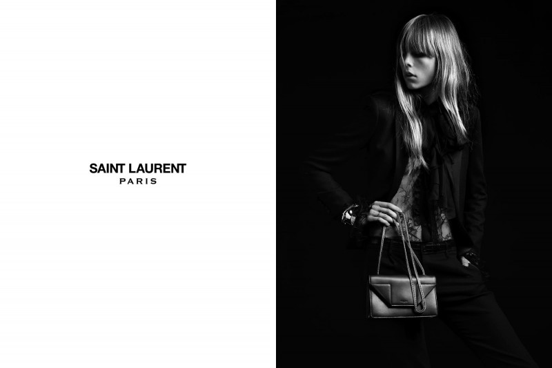 SaintLaurent5 800x533 Edie Campbell Stars in the Saint Laurent Spring 2013 Campaign by Hedi Slimaine