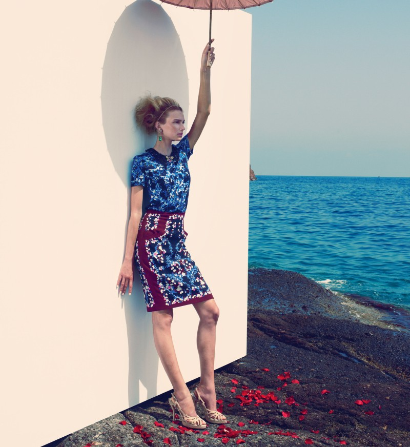 SigridNeimanBook14 Sigrid Agren Has a Coastal Getaway for the Neiman Marcus Resort 2013 Book