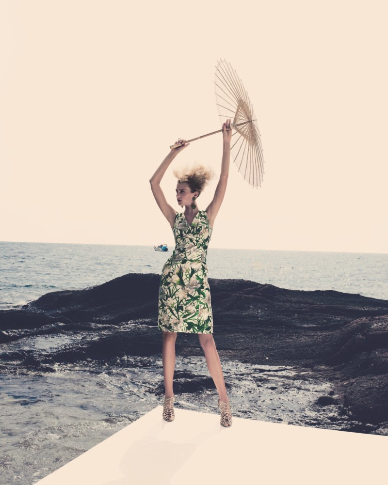SigridNeimanBook2 Sigrid Agren Has a Coastal Getaway for the Neiman Marcus Resort 2013 Book