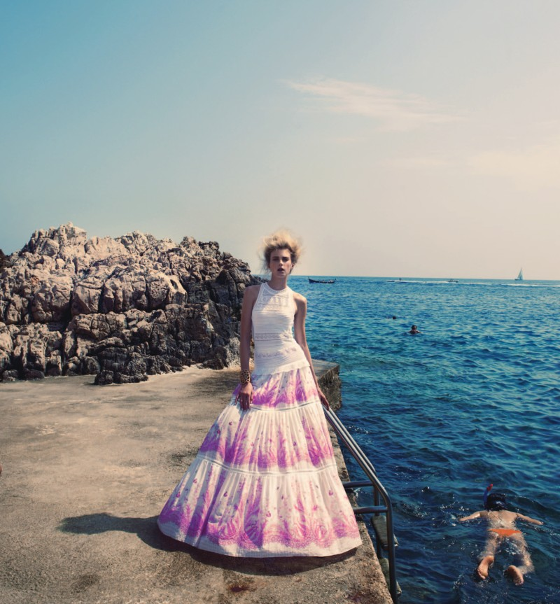 SigridNeimanBook5 Sigrid Agren Has a Coastal Getaway for the Neiman Marcus Resort 2013 Book