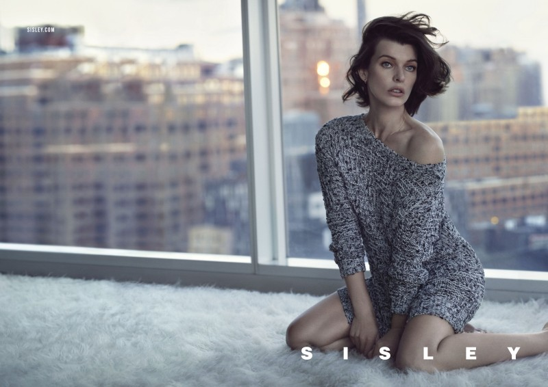 Milla Jovovich Stars in Sisley's Spring 2013 Campaign by Sean & Seng
