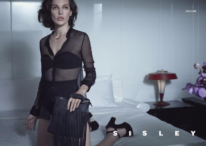 SisleySS4 Milla Jovovich Stars in Sisleys Spring 2013 Campaign by Sean & Seng