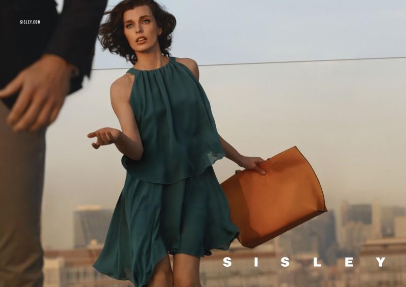 SisleySS6 Milla Jovovich Stars in Sisleys Spring 2013 Campaign by Sean & Seng