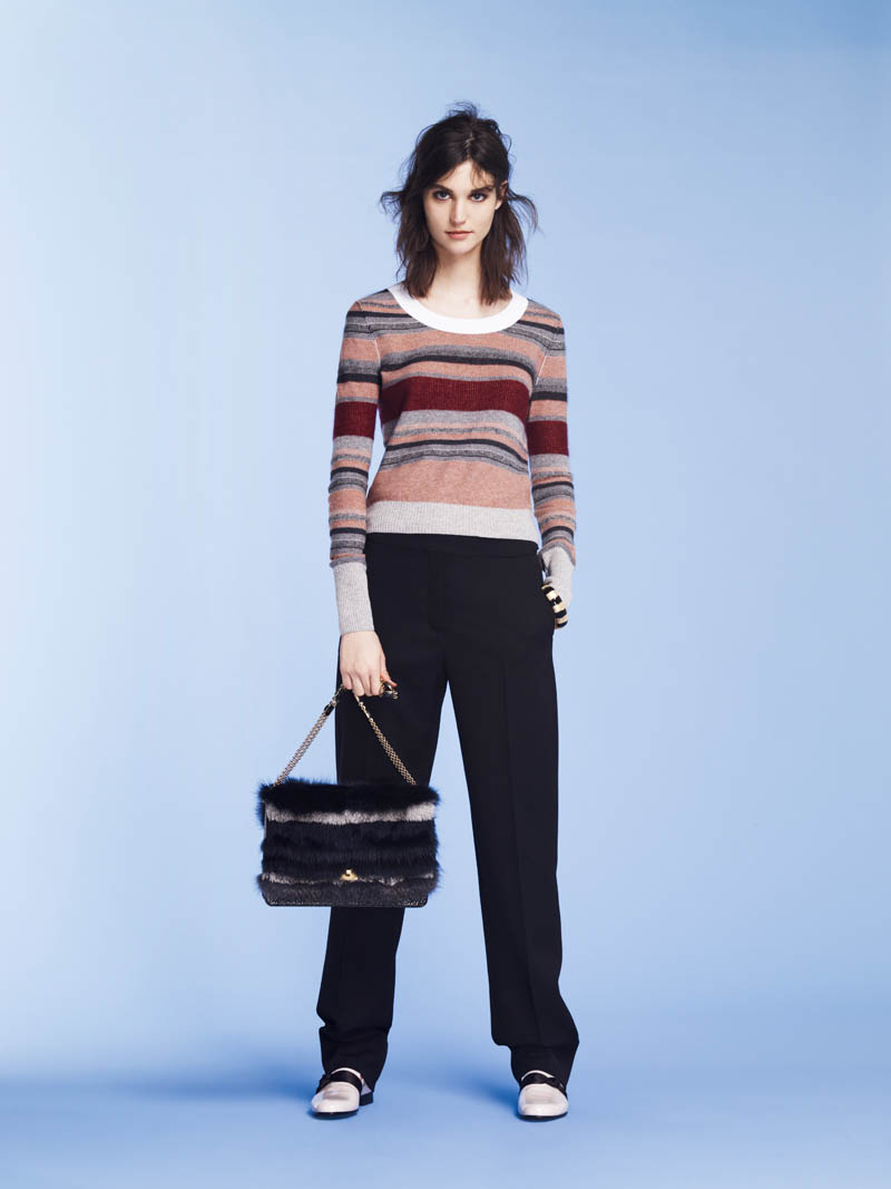 SoniaPF12 Sonia Rykiel Covers the Essentials for Pre Fall 2013 Collection