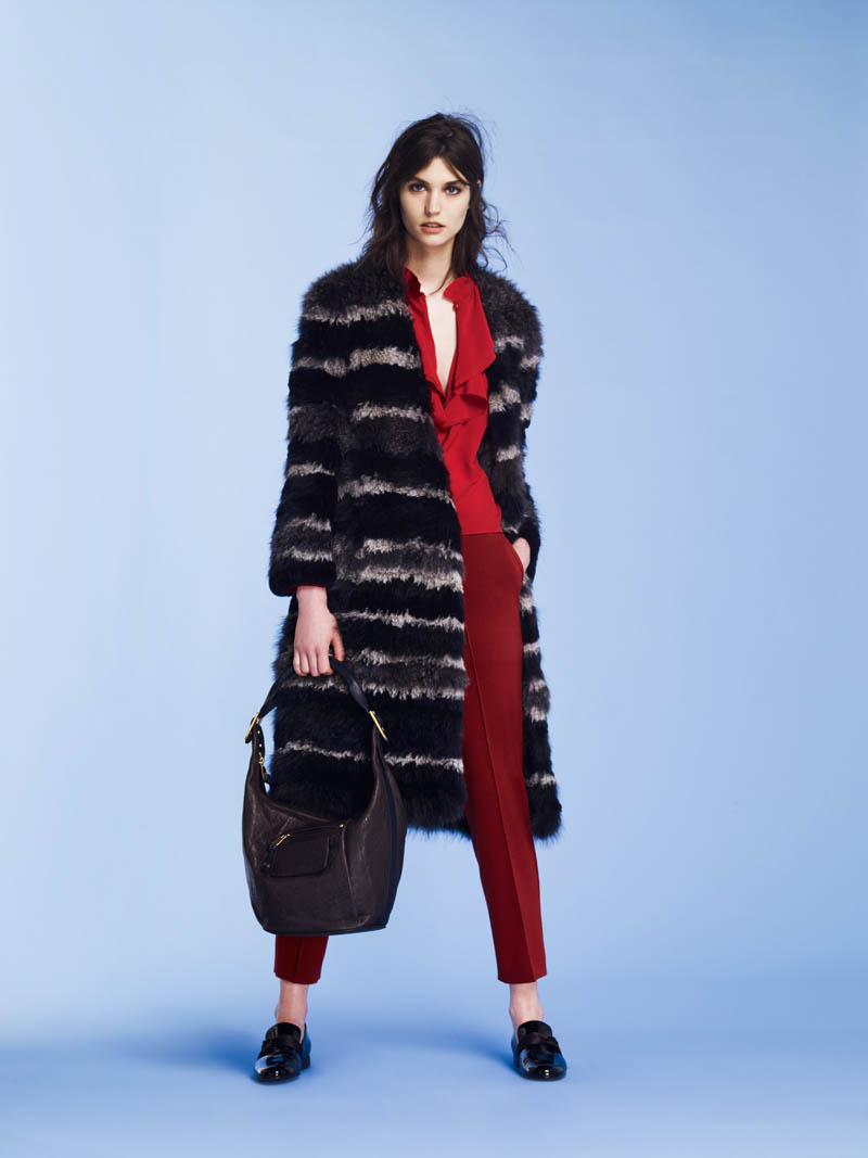 SoniaPF6 Sonia Rykiel Covers the Essentials for Pre Fall 2013 Collection