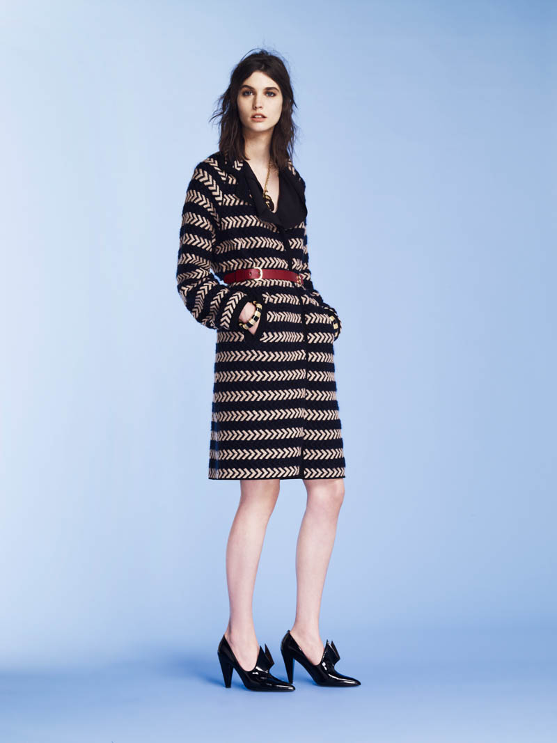 SoniaPF9 Sonia Rykiel Covers the Essentials for Pre Fall 2013 Collection