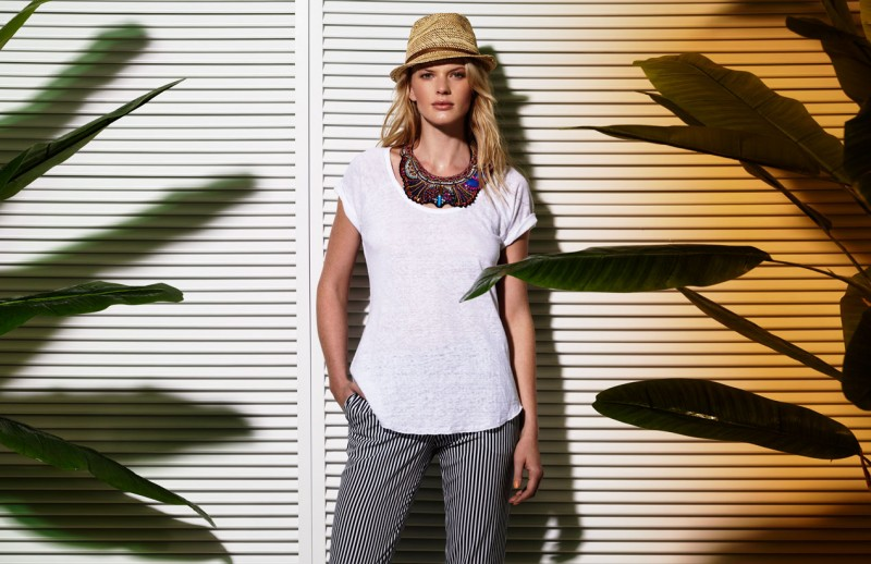 Suiteblanco ss13 campaign woman 10 800x518 Anne Vyalitsyna Poses for SuiteBlanco Spring/Summer 2013 Campaign