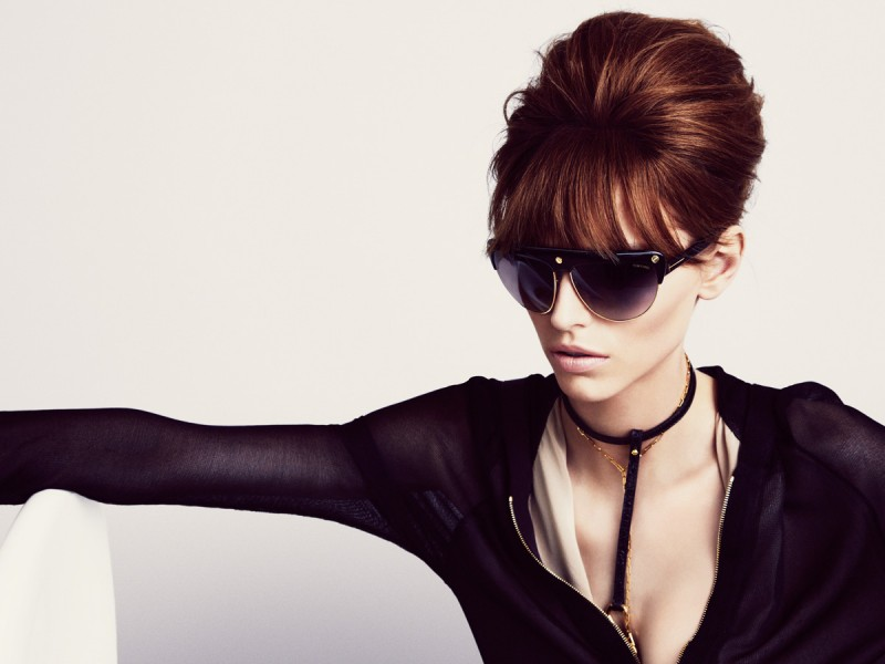 TomFordSS1 800x600 Karlina Caune Lands Tom Fords Spring 2013 Campaign